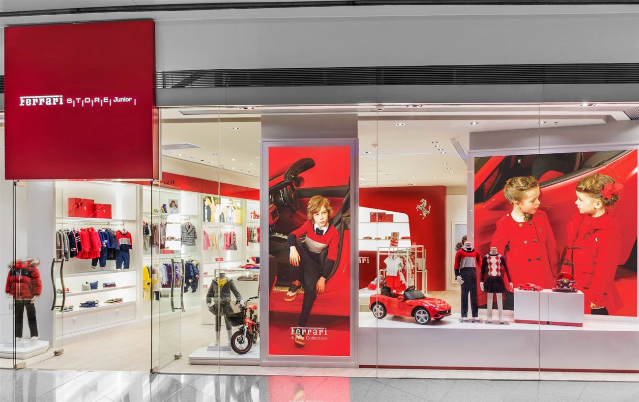 1eab693ca53 The First Ferrari Store Junior Launched in Greater China